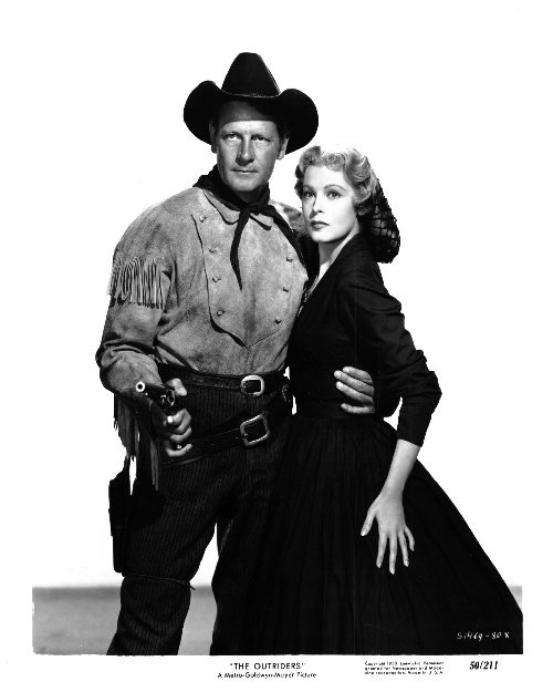 With Joel McCrea.THE OUTRIDERS