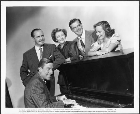 Hoagland Carmichael,Frederic March,Myrna. Loy,Dana Andrews,Teresa Wright.THE BEST YEARS OF OUR LIVES