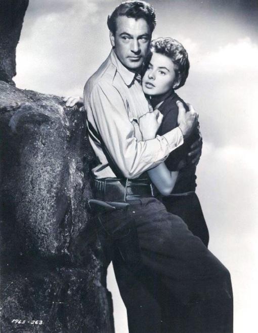 Gary Cooper,Ingrid Bergman. For whom the bell tolls