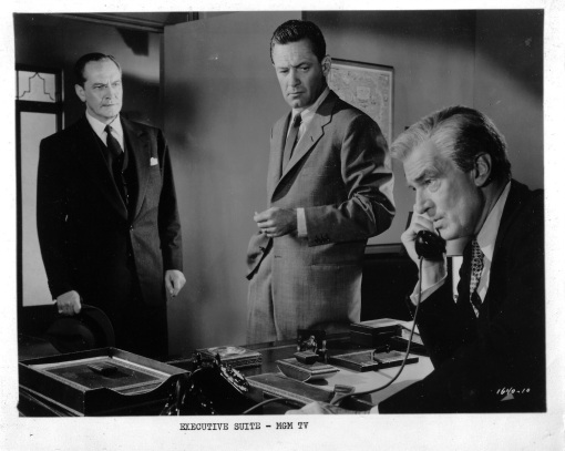 Fredric March ,William Holden,Walter Pidgeon