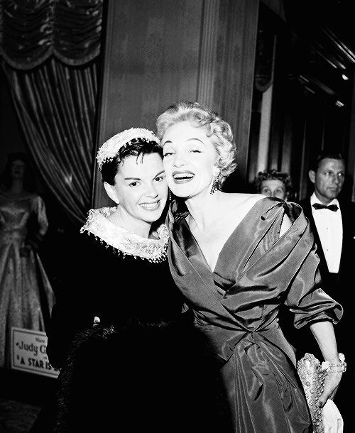 Judy with Marlene Dietrich