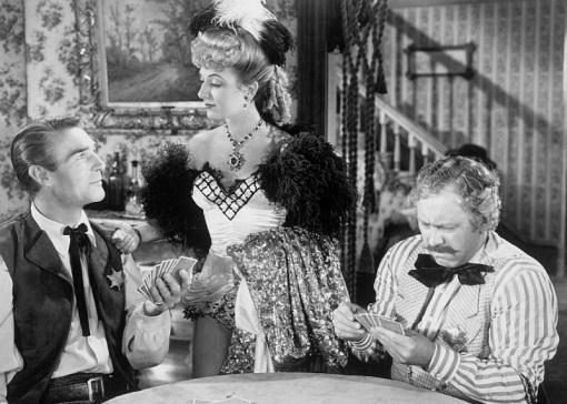Randolph Scott,Ann Dvorak.Edgar Buchanan