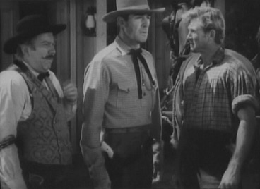 Edgar Buchanan,Randolph Scott, Lloyd Bridges