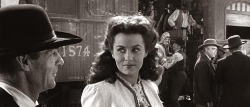 Randolph Scott,Rhonda Fleming