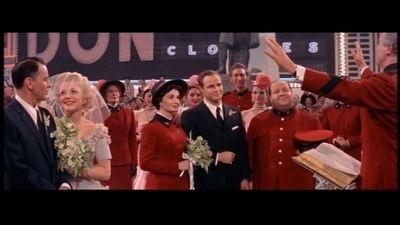 Frank Sinatra,Vivian Blaine,Jean Simmons, Marlom Brando.GUYS AND DOLLS