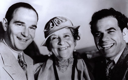 Robert Riskin, May Robson,Frank Capra