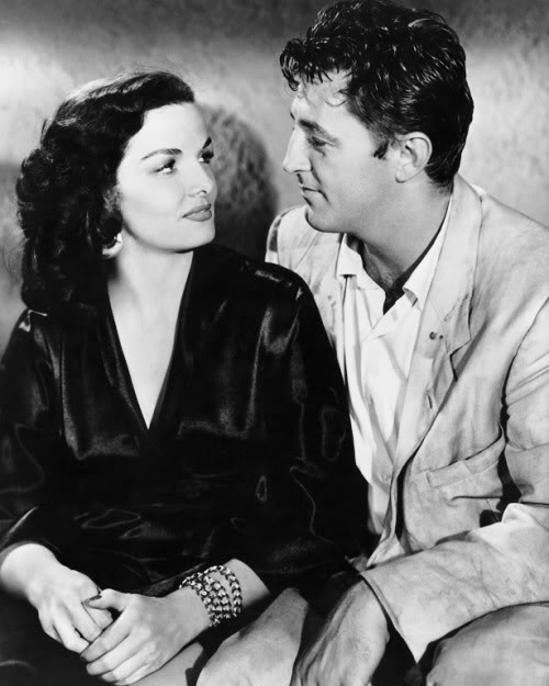 Jane Russell, Robert Mitchum.HIS KIND OF WOMAN
