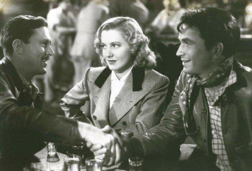 Jerome Cowan, Jean Arthur,Noah Beery