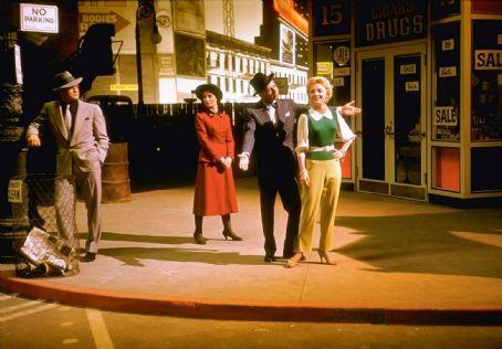 Marlon Brando,Jean Simmons, Frank Sinatra,Vivian Blaine