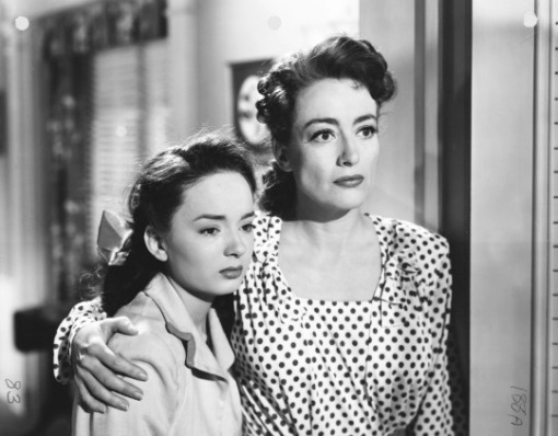Ann Blyth,Joan Crawford.MILDRED PIERCE