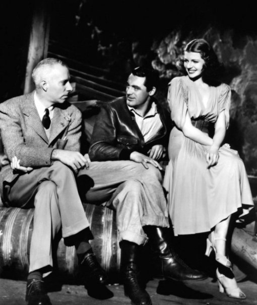 Howard Hawks,Cary Grant,Rita Hayworth.ONLY ANGELS HAVE WINGS