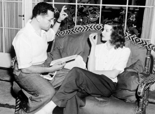 George Cukor,Katharine Hepburn. Philadelphia Story