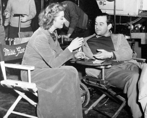 Greer Garson, William Wyler.MRS MINIVER
