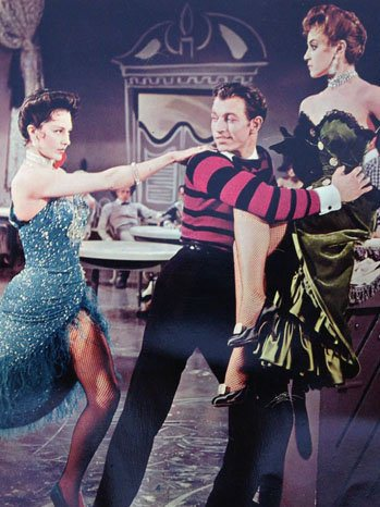With Cyd Charisse.MEET ME IN LAS VEGAS.