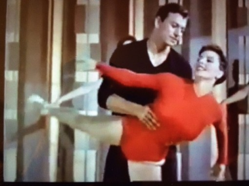 With Cyd Charisse.MEET ME IN LAS VEGAS