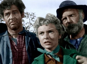 Robert Ryan,Janet Leigh,Millard Mitchell.THE NAKED SPUR