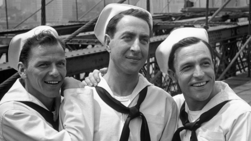 Frank Sinatra,Jules Munshin,Gene Kelly.
