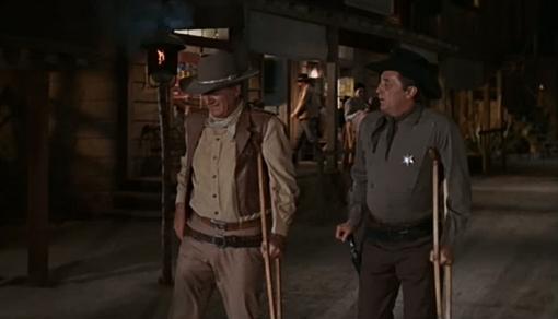 John Wayne, Robert Mitchum