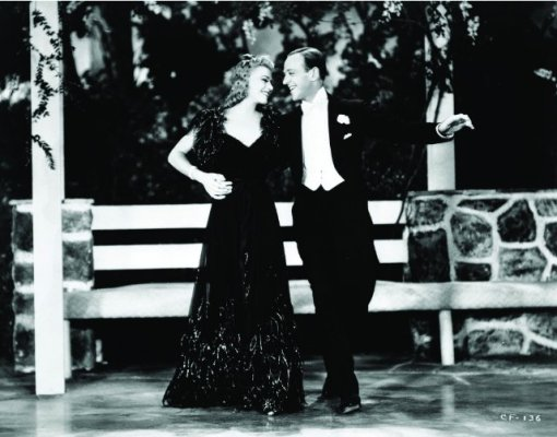 Ginger Rogers,Fred Astaire.CAREFREE