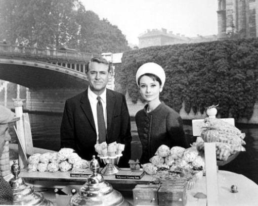 Cary Grant,Audrey Hepburn.CHARADE