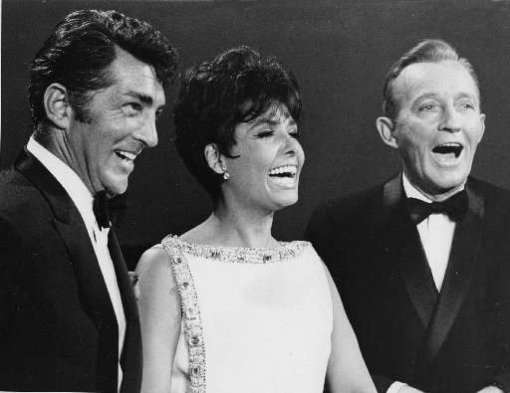 With Dean Martin and Bing Crosby