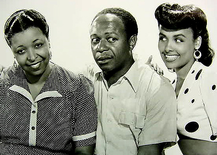 With Ethel Waters and Eddie Anderson.CABIN IN THE SKY