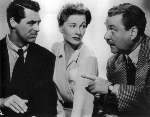 Cary Grant,Joan Fontaine, Nigel Bruce