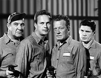 Broderick Crawford, Ralph Meeker, William Talman, Charles Bronson
