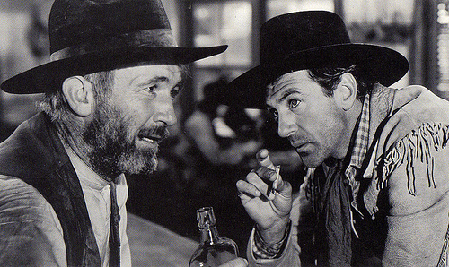 Walter Brennan,Gary Cooper