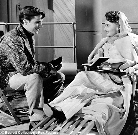 With Barbara Stanwyck.TITANIC