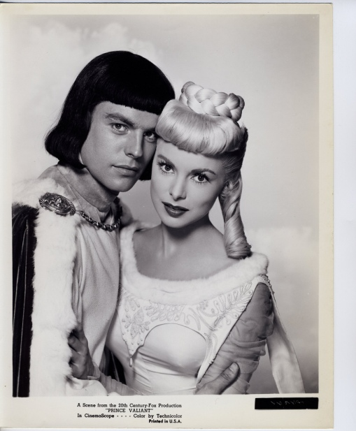 With Janet Leigh.PRINCE VALIANT