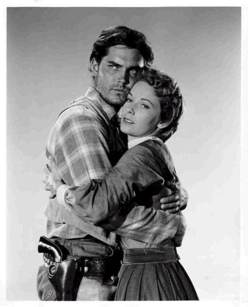 Jeffrey Hunter,Vera Miles.THE SEARCHERS