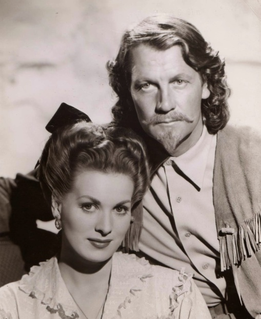 Maureen O'Hara, Joel McCrea.BUFFALO BILL