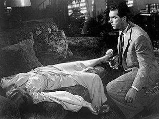 Barbara Stanwyck, Fred MacMurray.DOUBLE INDEMNITY