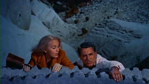 Eva Marie Saint, Cary Grant