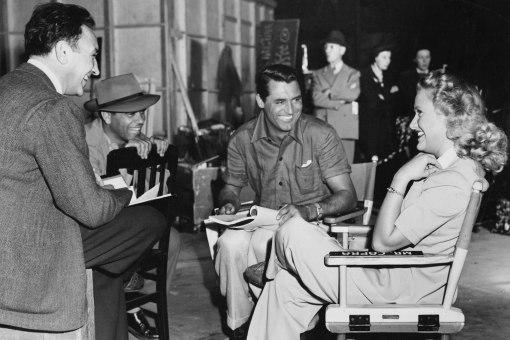 Frank Capra,Cary Grant. Priscilla Lane