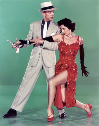 Fred Astaire,Cyd Charisse.THE BAND WAGON.