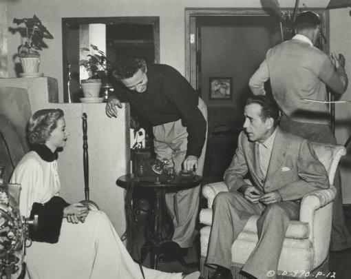 Gloria Grahame, Nicholas Ray,Humphrey Bogart