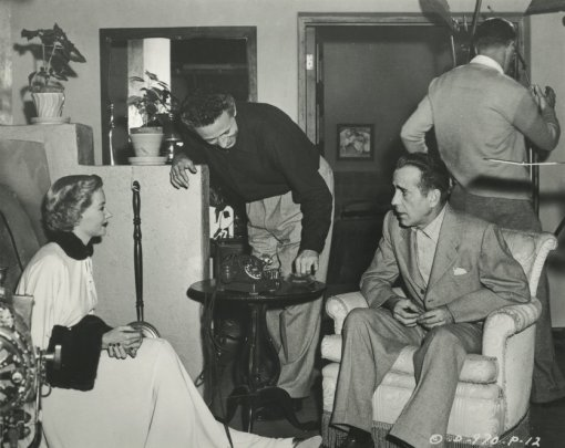 Gloria Grahame, Nicholas Ray,Humphrey Bogart