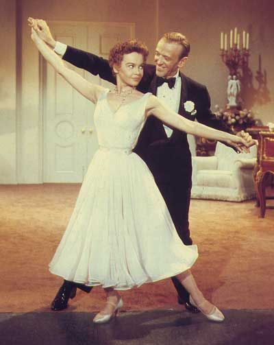 With Fred Astaire,DADDY LONG LEGS