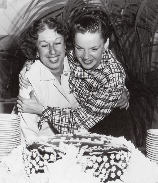 Dorothy Ponedel, Judy Garland