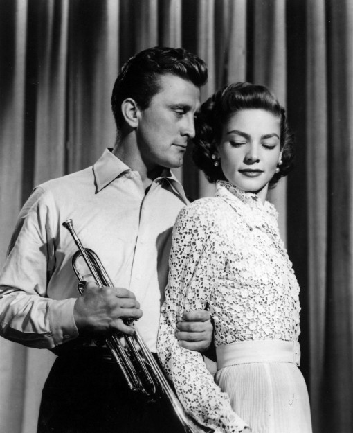 Kirk Douglas, Lauren Bacall.Young Man With a Horn.
