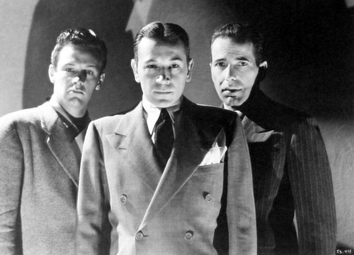 William Holden,George Raft, ,Humphrey Bogart.