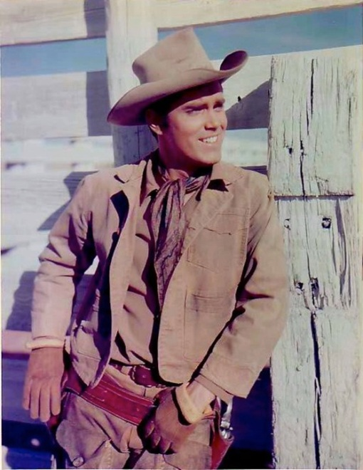 Jeffrey Hunter.THE PROUD ONES.