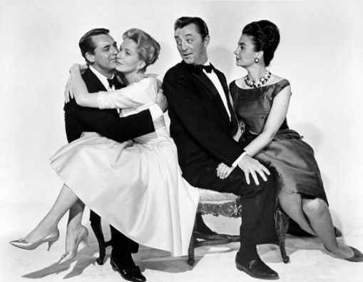 Cary Grant,Deborah Kerr, Robert Mitchum,Jean Simmons.THE GRASS IS GREENER