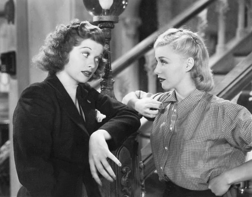 Lucille Ball, Ginger Rogers
