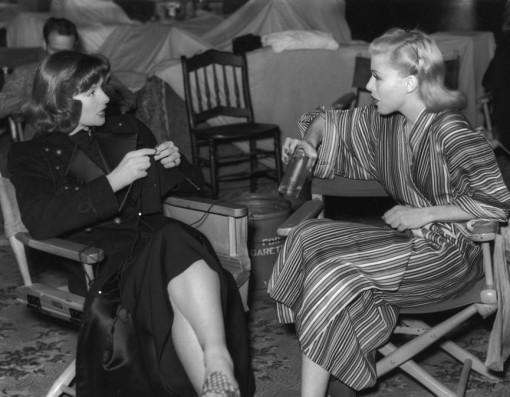 Katharine Hepburn, Ginger Rogers. STAGE DOOR