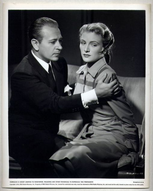 George Raft, Virginia Huston