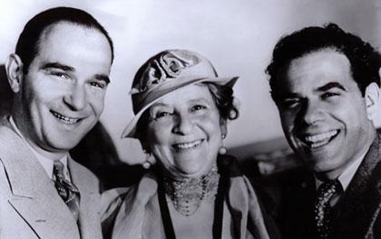 Robert Riskin, May Robson, Frank Capra
