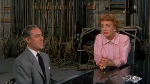 Michael Wilding, Joan Crawford. TORCH SONG